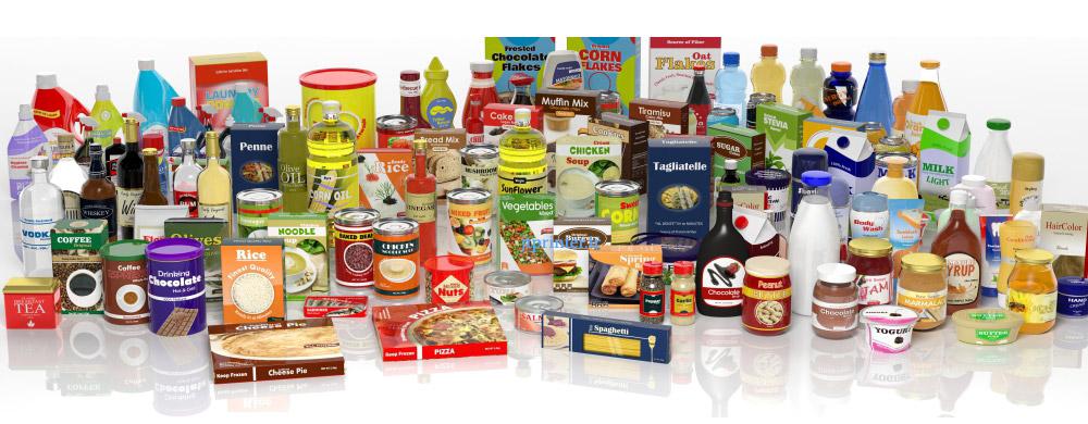 چاپ و بسته بندی مواد غذایی
