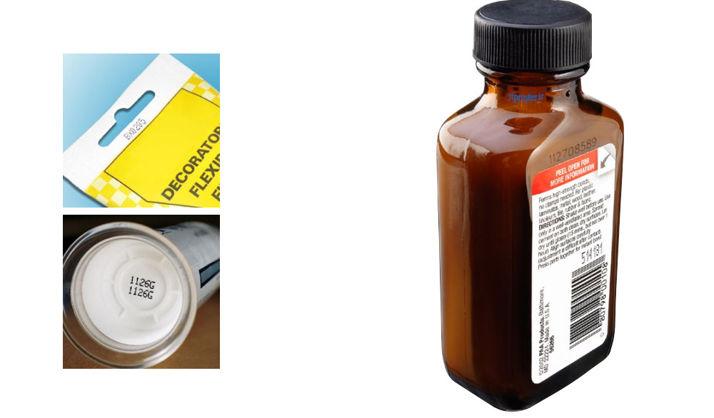 چاپ روی ظروف محصولات شیمیایی   ظروف خاص