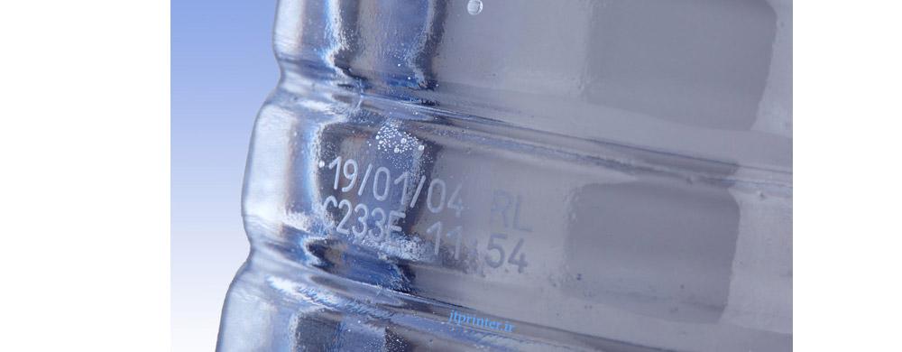 چاپ روی بطری پلاستیکی